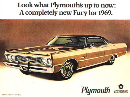 1969 Plymouth Sport Fury Ad