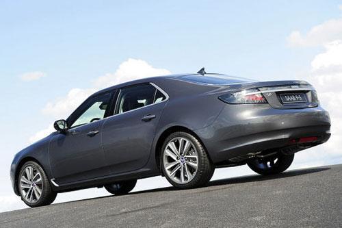 2010 Saab 9-5 Rear 3/4
