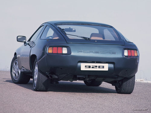 Porsche 928 Rear View