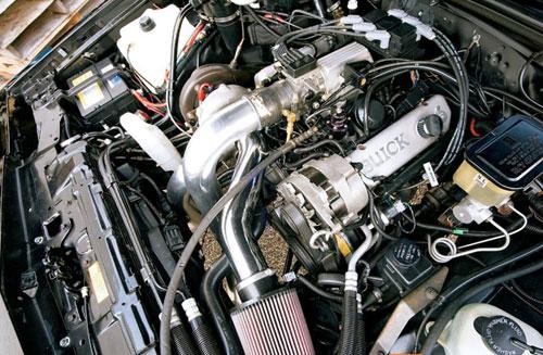 Buick Grand National Engine Bay