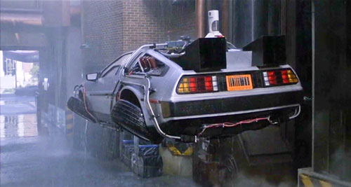 Flying DeLorean 2