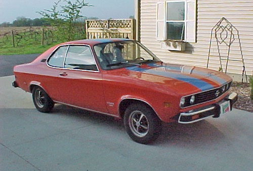 Opel Manta Front