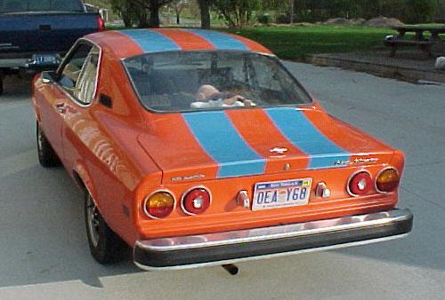 Opel Manta Rear 3/4