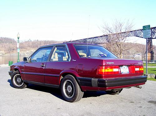 1991 Volvo 780 Rear
