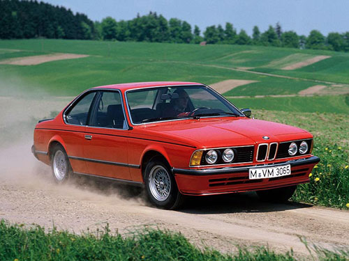 Pre-'82 BMW 628CSi Henna Red Hennarot