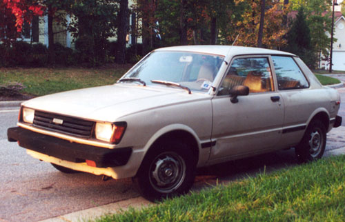 1982 Toyota Tercel 5-Speed