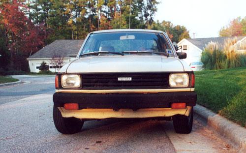 1982 Toyota Tercel 5-Speed