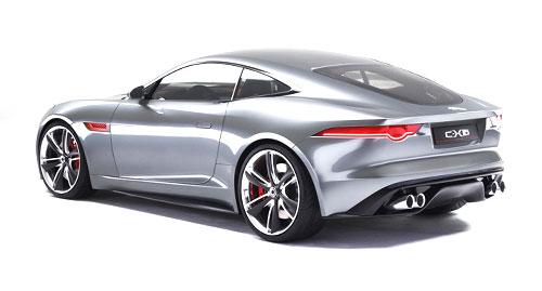 Jaguar C-X16 concept rear quarter