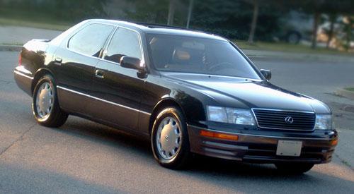 1995 1996 1997 Lexus LS400 UCF20