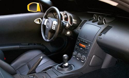 Nissan 350Z Interior Inside Cockpit