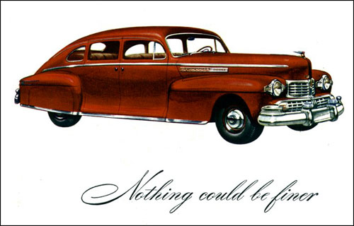 Old Lincoln Car Ad