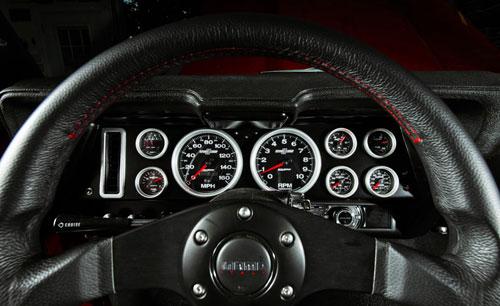 Mark Stielow 1969 Camaro Dashboard Gauges
