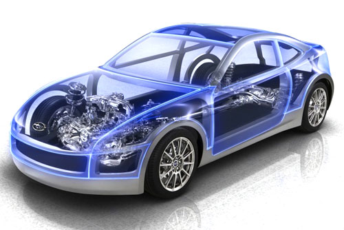 Subaru BRZ Cutaway