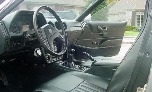 Nissan Datsun 280ZX S130 Interior Inside Cockpit