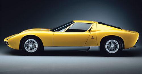 Lambo Lamborghini Miura Muira Bertone Gandini