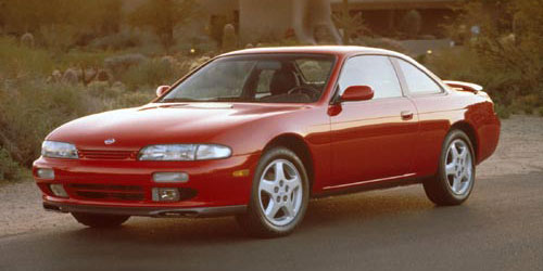 Nissan 240SX 1995 1996 S14 Silvia Stock OEM Unmodified Red