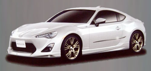 Toyota FT-86 FT86 Scion FRS FR-S Coupe RWD