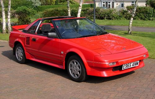 First Generation Gen Toyota MR2 MR-2 AW11 Supercharged
