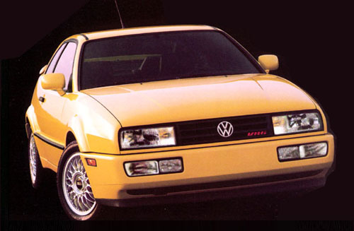 VW Volkswagen Corrado Coraddo Corado Front Yellow