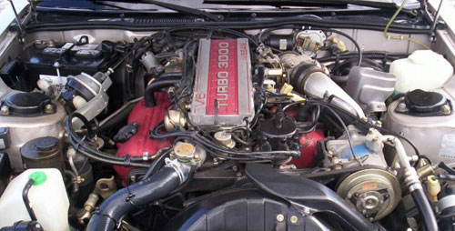 Nissan Datsun Z31 300ZX 300-ZX Engine VG30ET Bay Turbo