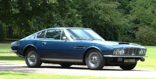 1970 Aston Martin DBS First Generation Old Blue