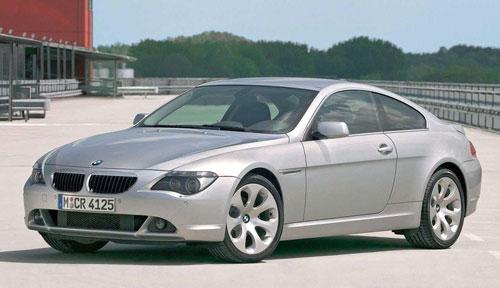 BMW 640i 650i 645i E63 6-series