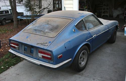 1972 Datsun 240Z Blue