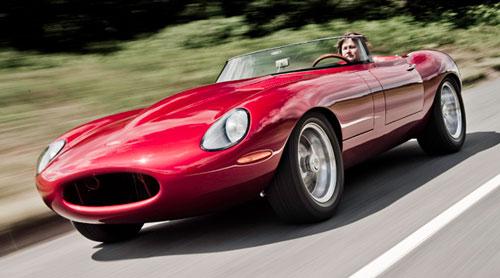 Eagle Speedster Jaguar E-Type XKE Roadster Red