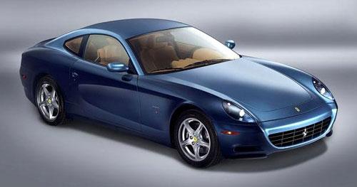 Ferrari 612 Scaglietti Blue
