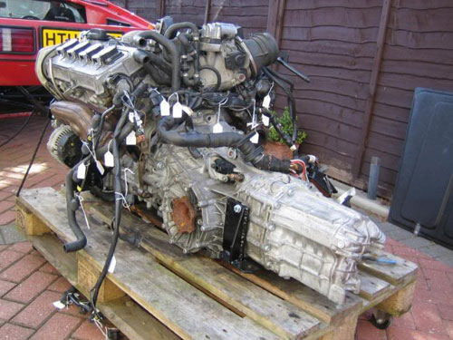 Hilly Lotus Esprit S3 Audi ABZ V8 Engine Motor Swap Motorgeek
