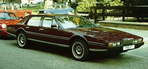 Aston Martin Lagonda Burgundy Auburn