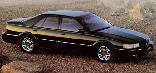 Cadillac Seville STS Black