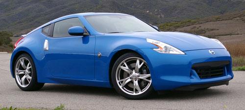 Nissan 370Z Blue