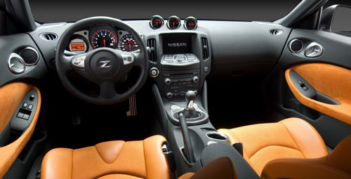 Nissan 370Z Interior Inside Cockpit Gauges Dashboard