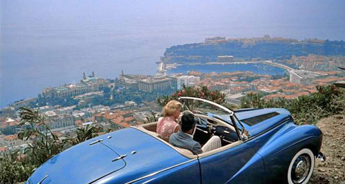 Sunbeam Alpine Sports Mark I Blue To Catch a Thief Grace Kelly Cary Grant