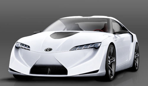 Toyota FT-HS Supra White
