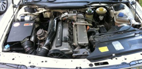 1991 Audi 200 Avant quattro Turbo 200q20v Engine 3B Motor