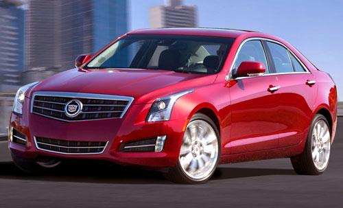 Cadillac ATS Red 2013