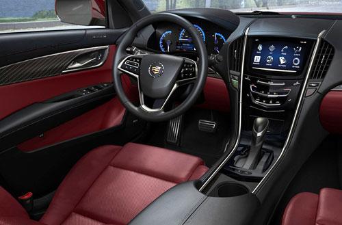 Cadillac ATS Interior Inside Cockpit Dashboard