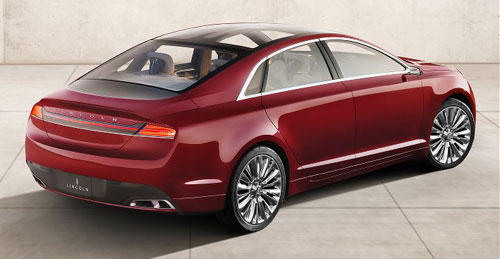 Lincoln MKZ Concept Red