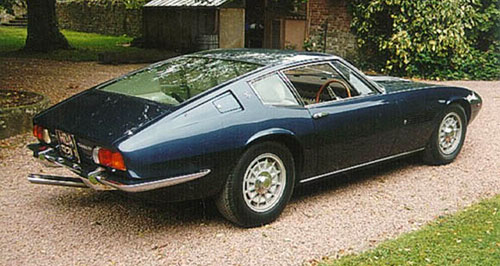 Maserati Ghibli 1 I Blue