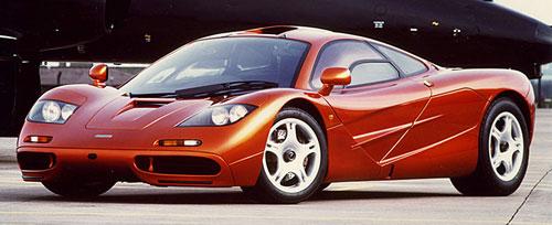 McLaren F1 F-1 Orange Red