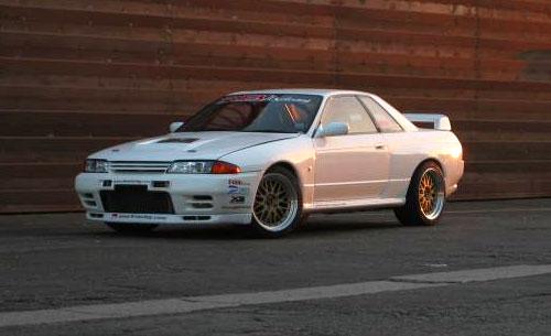 Nissan Skyline R32 GT-R GTR White