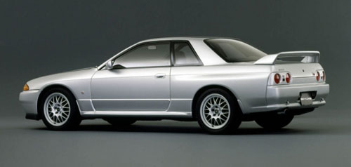 Nissan Skyline R32 GT-R GTR Silver Gray Grey