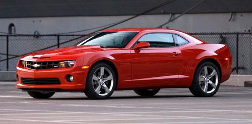 2011 11 Chevy Chevrolet Camaro SS Red