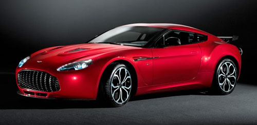 Aston Martin V12 Zagato Red