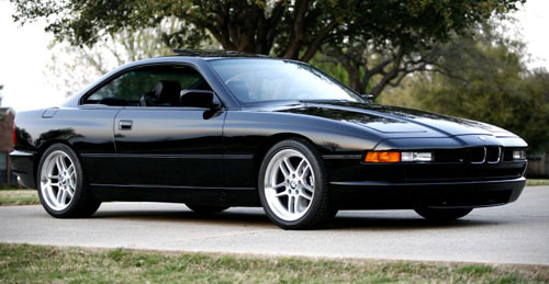BMW E31 8-series 850i 850Ci Black M-pars M-parallel