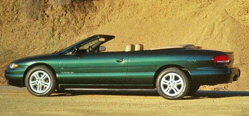 Chrysler Sebring Convertible Vert Cabriolet Cabrio Droptop Ragtop Green 1996 96