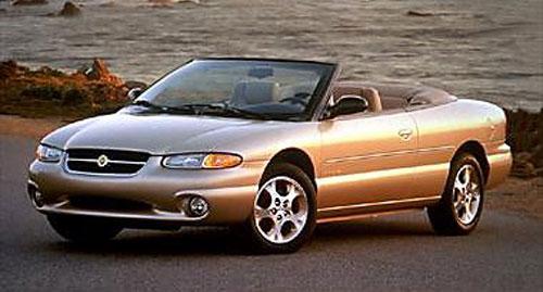 Chrysler Sebring Convertible Vert Cabriolet Cabrio Droptop Ragtop Beige Brown Tan Bronze 1996 96