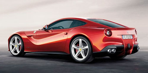 New Ferrari F12 F12B Berlinetta Sports Car GT Red